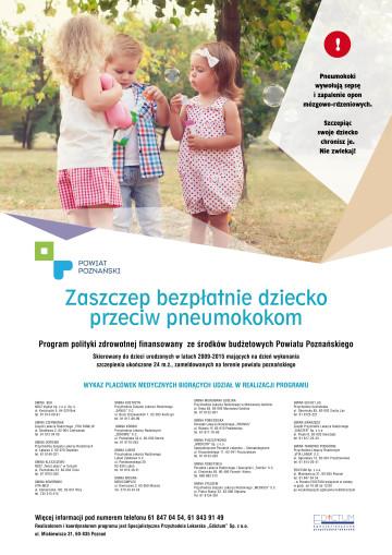 plakat pneumokoki
