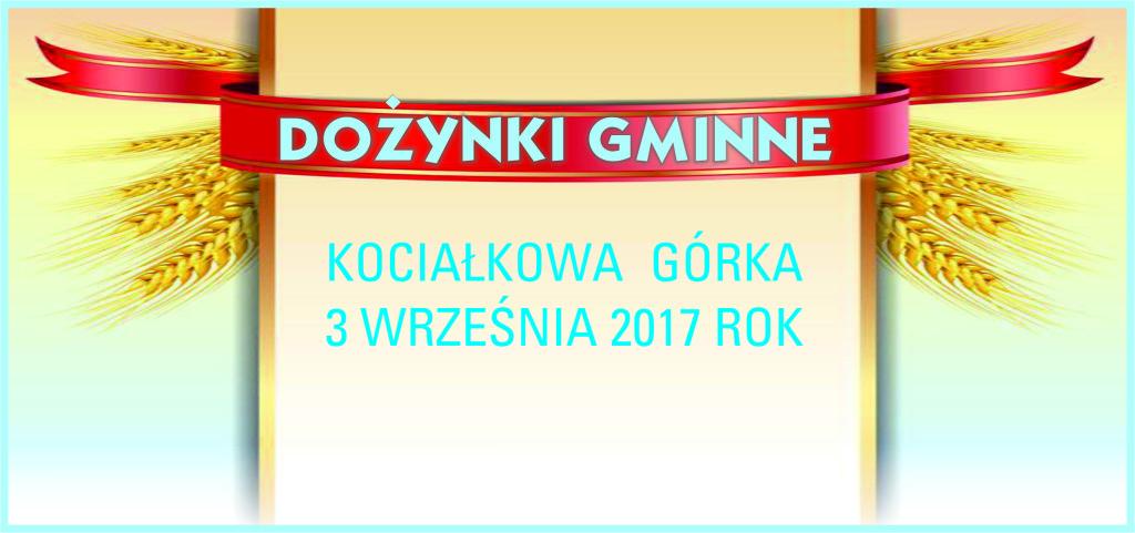 DOŻYNKI 2017 BANER NA STR