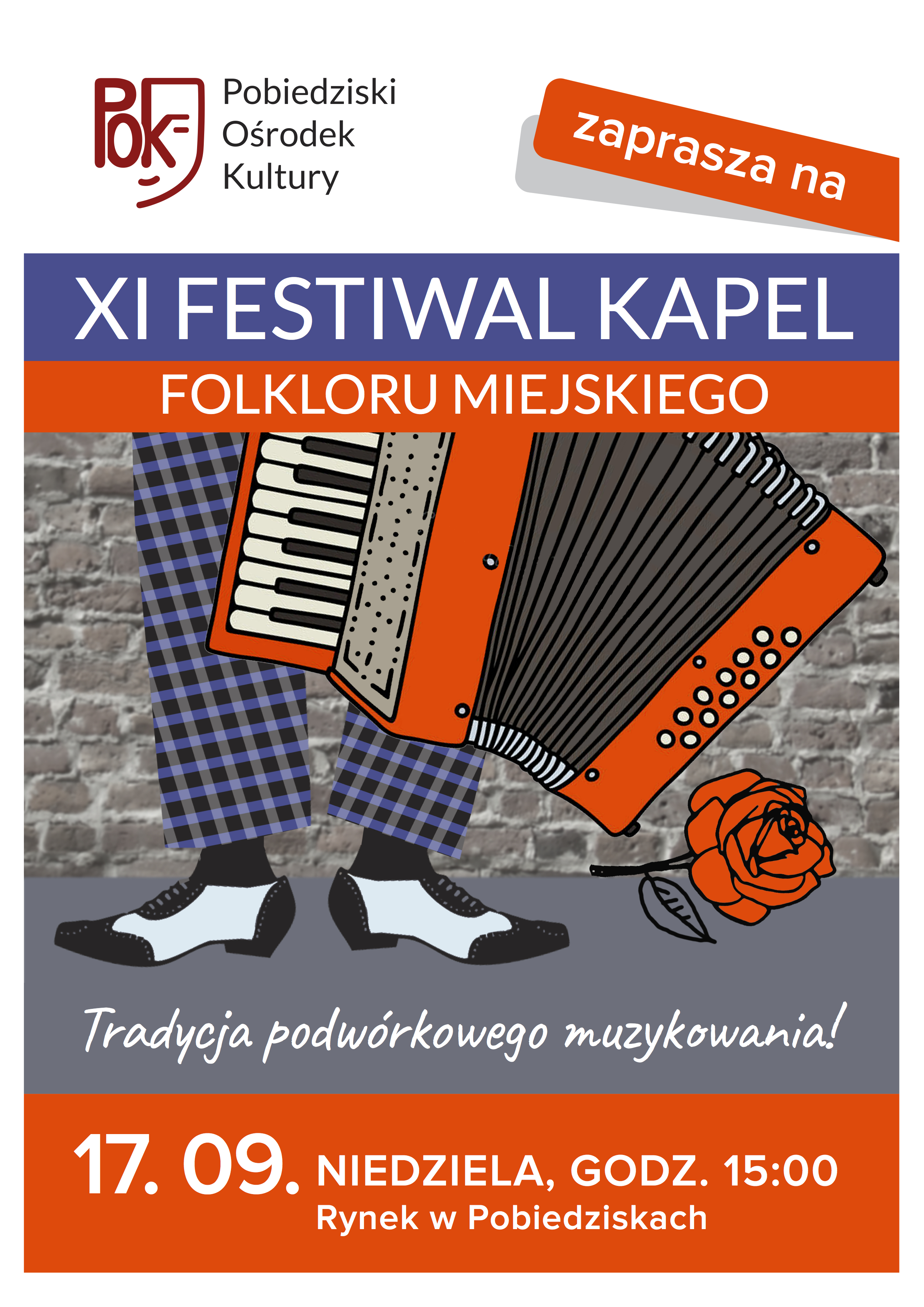 PLAKAT POK FESTIWAL KAPEL 2017