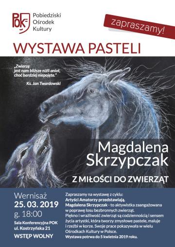 M. SKRZYPCZAK - WYSTAWA PLAKAT