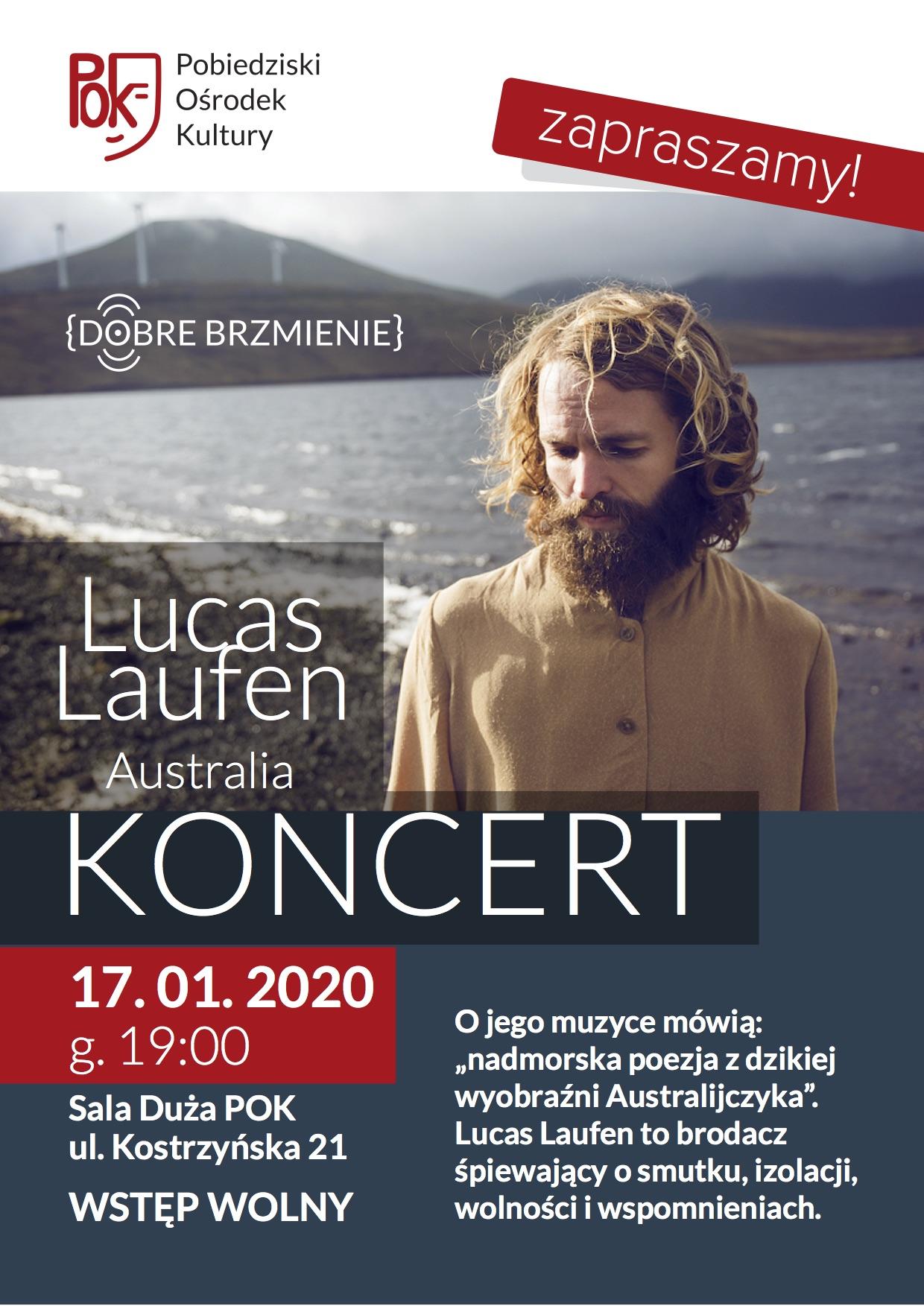 KONCERT LICAS LAUFEN PLAKAT 2020