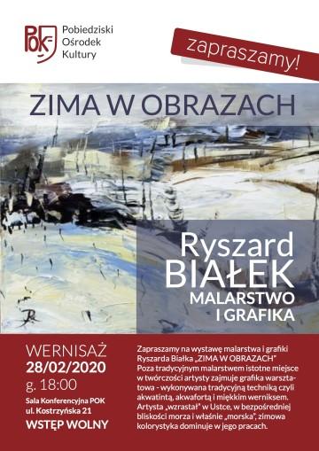 R. BIAŁEK - WYSTAWA PLAKAT
