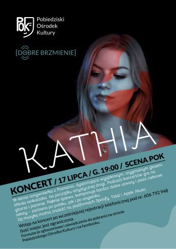 KATHIA KONCERT - PLAKAT JPG