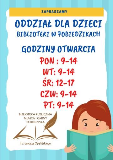 Oddział dla dzieci - godz. od 21.09