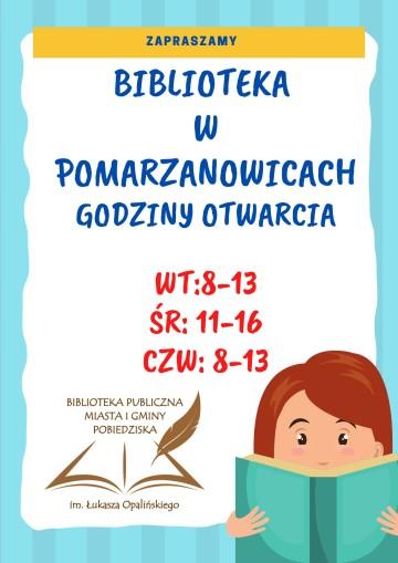 Pomarzanowice od 22.09