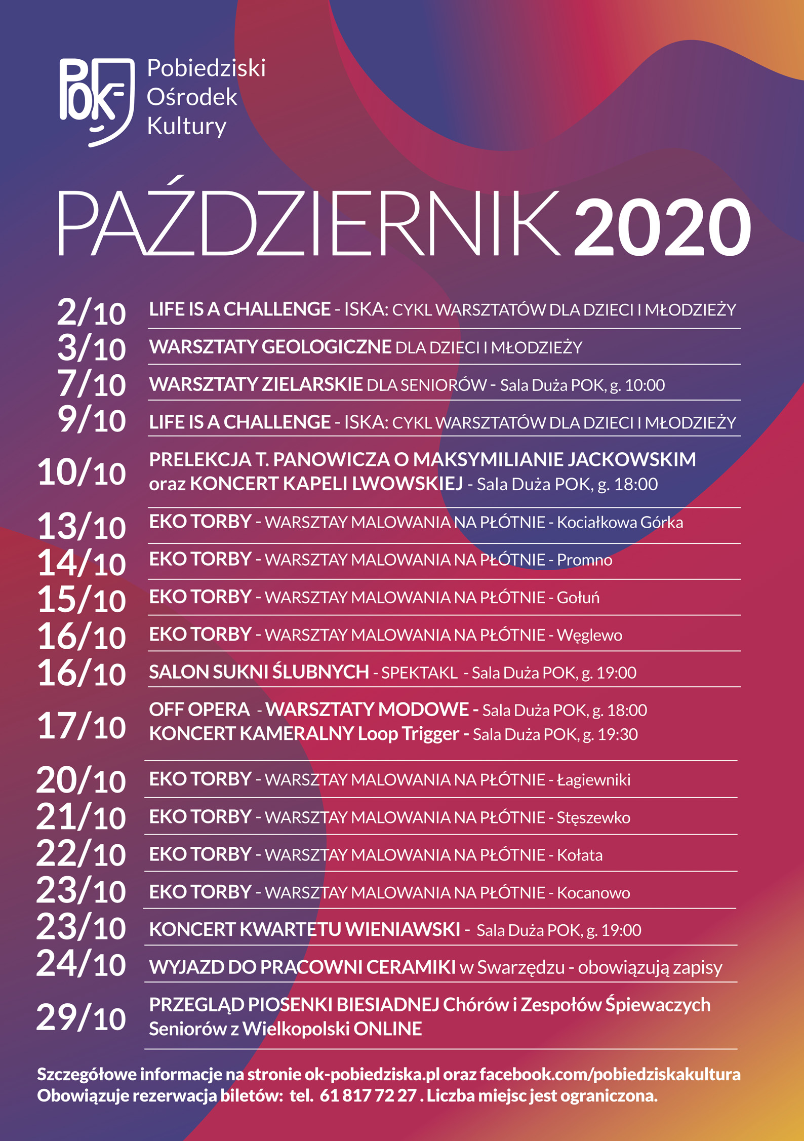 PAŹDZIERNIK 2020
