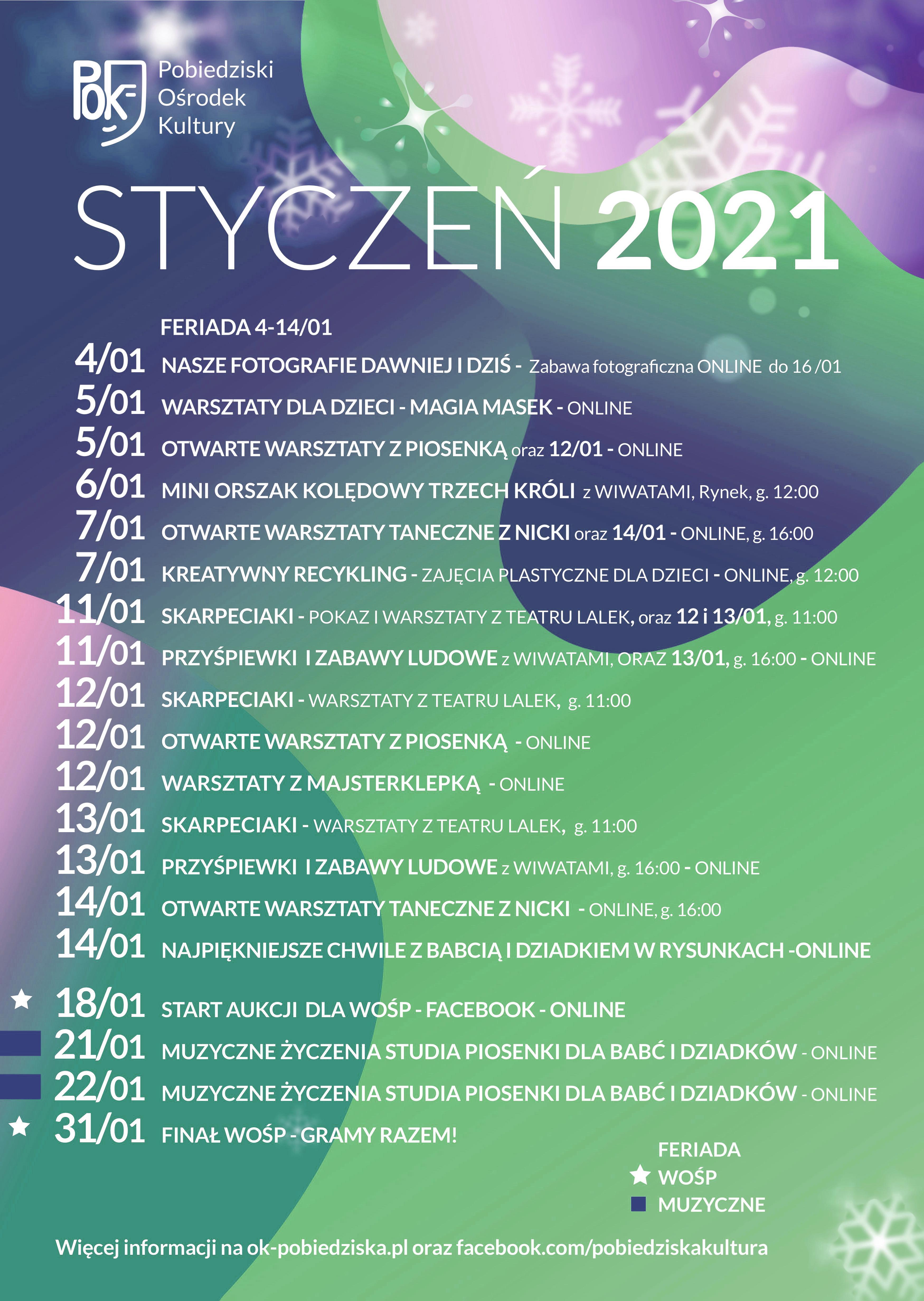 STYCZEŃ 2021