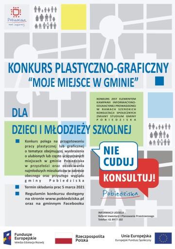 plakat niebieski0 na konkurs plastyczny 1-02-2021