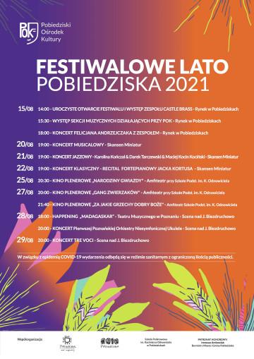 FESTIWALOWE LATO PLAKAT2 2021
